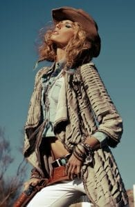 Americana fashion, denim