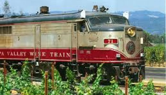 Napa, CA – Ride the Napa Valley Wine Train